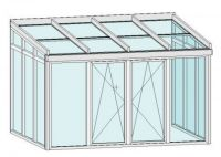 wintergarten 4x3m wintergarten aluminium wintergarten oldenburg 4x3m aluminium pultdach. Black Bedroom Furniture Sets. Home Design Ideas